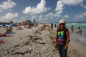 Miami Beach på en fridag i påsken
