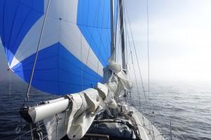 Finland bød på mere tåge. Smukt og spændende at sejle i.